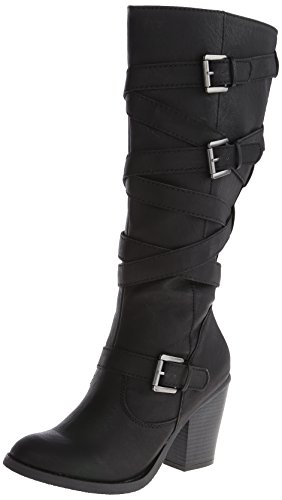 Madden Girl Women's Kiickbak Motorcycle Boot