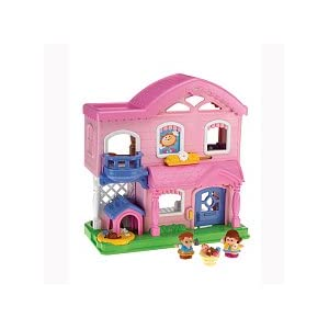 Fisher-Price Little People Busy Day Home - Pink