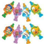 Amscan Adorable Bubble Guppies Birthday Cake Candle Set (8 Piece),, Green/Blue/Purple/Orange