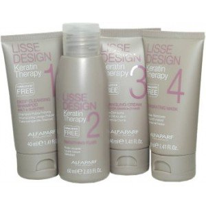 Alfaparf Milano Lisse Design Keratin Therapy Smoothing Treatment Kit