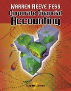Corporate Financial Accounting / Text Only (7th, 02) by Warren, Carl S - Reeve, James M - Fess, Philip E [Paperback (2001)]