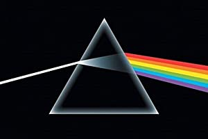 NMR 9087 Pink Floyd Dark Side Decorative Poster