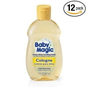 Baby Magic Cologne, Fresh Floral Scent, 7 Ounces (Pack of 12)
