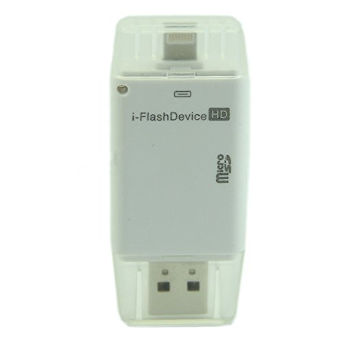 Qiorange USB i-Flash Drive HD Micro SD Memory Card Reader Ad