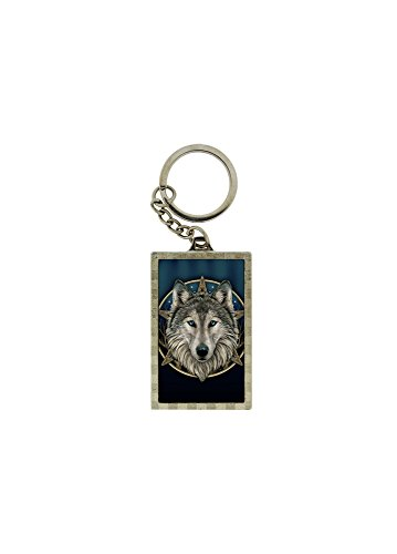 THE WILD ONE 3D KEYRING BY LISA PARKER NEMESIS NOW