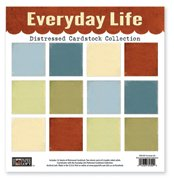 Everyday Life Distressed Cardstock Collection // The Paper Loft