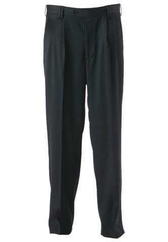 Stormchaser Black Mens Uniform Trousers Gents Office Workwear Pants