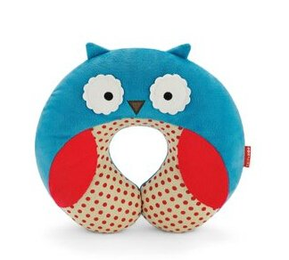 New Cute Hoop Baby Infants Pillows Bee/Dog/Monkey Shape Car Seat Travel Head Neck Rest Soft Safty Pillow (Owl)