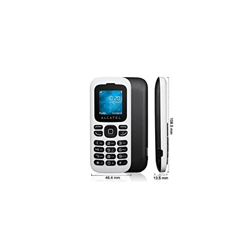 Comparer ALCATEL ONE TOUCH 232 BLANC