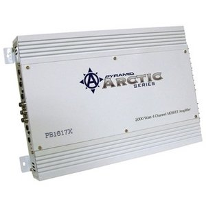 Pyramid Pb1617X 2,000 Watt 4-Channel Bridgeable Mosfet Amplifier