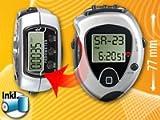 Pedometer Fitness-Uhr mit Pulsmesser & Kalorien-/Schrittzähler
