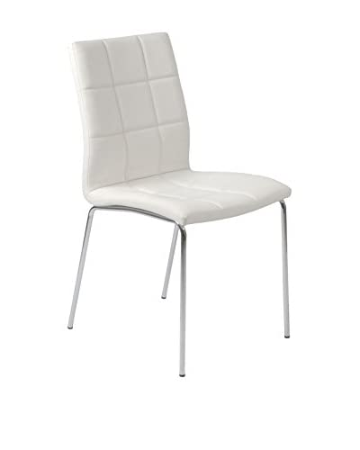 Eurostyle Cyd Side Chair, White