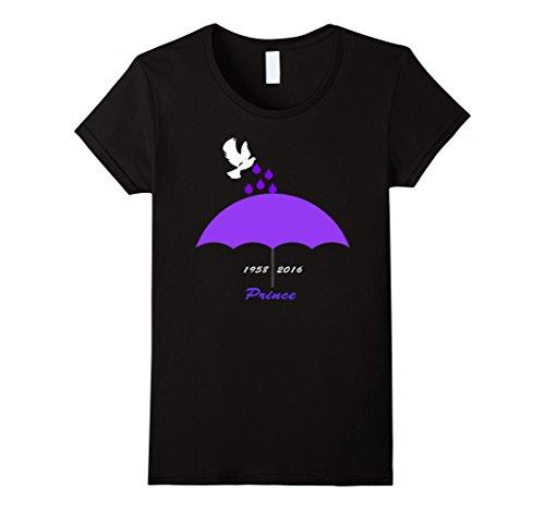 Women's Purple Rain T-shirt Small