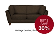Barletta Medium Sofa - Leather
