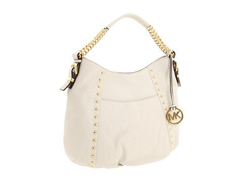 MICHAEL Michael Kors Middleton Medium Shoulder Handbags - White