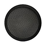 5-1/4-Inch Diameter 2-Pc Mesh Speaker Grill - Black