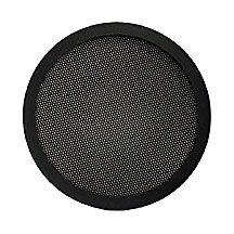 6-1/2-Inch Diameter 2-Pc Mesh Speaker Grill - Black