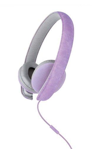 Merkury Innovations Mi-Hm100-500 Artist Suede Headphones - Purple