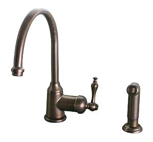 Premier 120157 Wellington Single Handle Kitchen Faucet