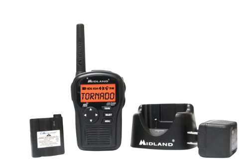 Midland HH54VP2 Portable Emergency Weather Radio with SAME (Black)