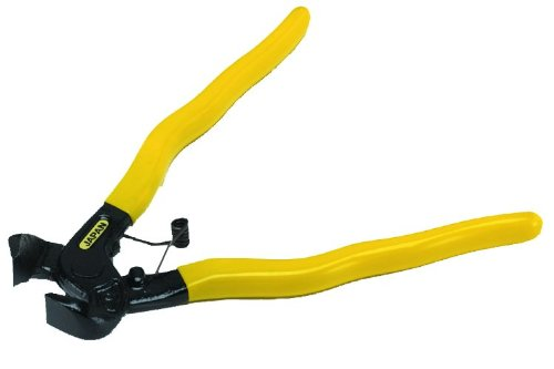 QLT By MARSHALLTOWN TN725 Side Cut Tile Nippers with Power Grip Handle