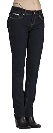 "(CC13-2401) COOGI Hot Skinny Jeans with ""CG"" Stud Detail (Sizes 4-24) in CG Stud Size: 5/6"