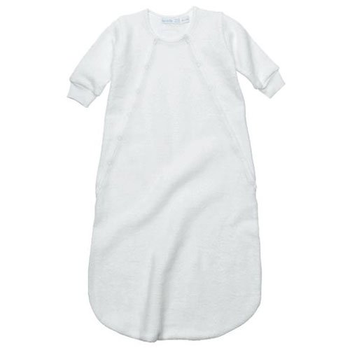 Under The Nile Apparel Unisex-Baby Newborn Sherpa Bunting, Off White, 0-6 Months