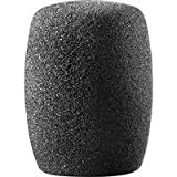 Audio-Technica AT8112 Large cylincrical foam windscreen (Black)