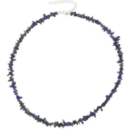 Pugster Handcrafted Stone Chip Lapis Lazuli Necklaces