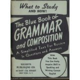 img - for The blue book of grammar and composition (The Blue books) book / textbook / text book