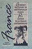 img - for Pocket Dictionary of Contemporary France, A. Berg Publishers. 1988. book / textbook / text book