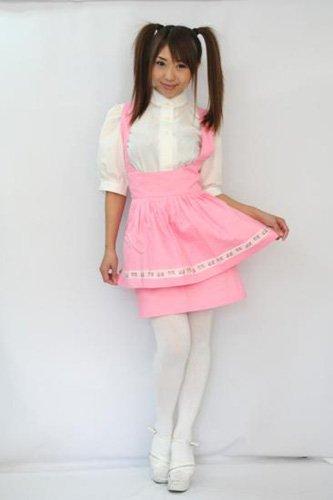 ウェイトレス制服 ピンクM