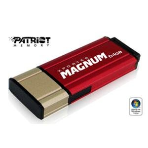 Patriot Memory, 64GB USB Magnum (Catalog Category: Flash Memory & Readers / USB Flash Drives)