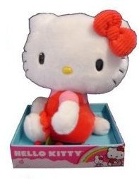 "Hello Kitty - Cherry 10"" Plush - 1"