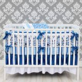 Caden Lane Luxe Collection Preston Crib Bedding Set