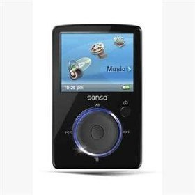 SanDisk Sansa Fuze 4 GB Video MP3 Player (Black)