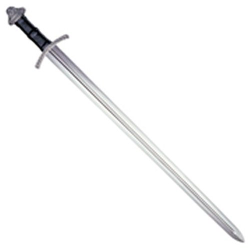 Cold Steel Viking Sword with Leather and Wood Scabbard