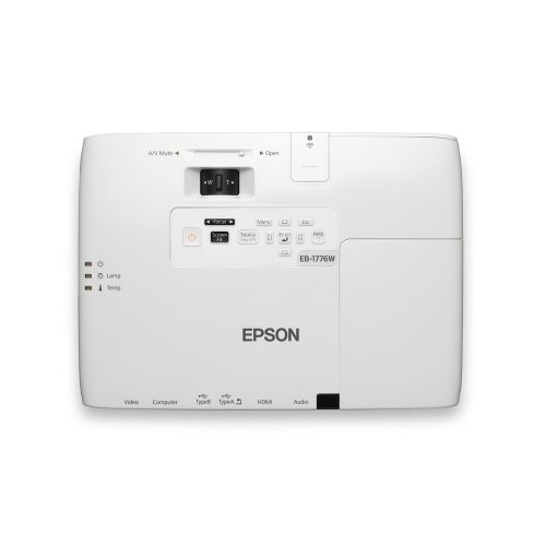 Epson EB-1776W WXGA Ultra-mobile projector for business presentations