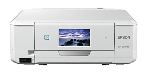EPSON プリンター インクジェット複合機 カラリオ EP-808AW ホ...