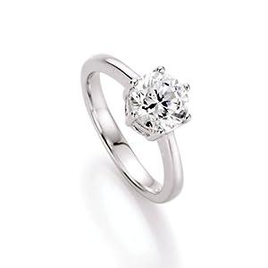 Spirit - New York Damen-Ring 925 Sterling Silber Zirkonia weiß Gr.58 (18.5) 93000393580