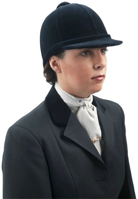 Charles Owen Beagler Show Hat (Black, 6 5/8)