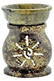 Aroma Lamp - Reiki Soapstone 3 1/2&quot; [Reiki Soapstone 3 1/2&quot;]