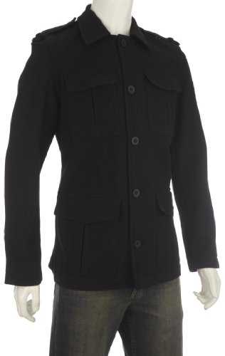 Puma Men's Military Jacket Warm Black 841749-01 Small