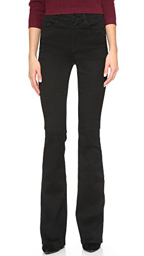 Blank Denim Women's High Rise Flare Jeans, Death Before Decaf, 26