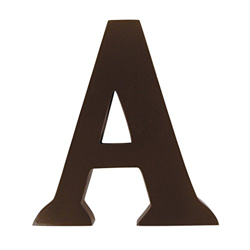 "Trend Lab Brown 6"" Tall Letter, Letter A"