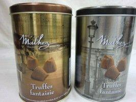 Mathez(マセズ) プレーン トリュフ チョコレート 2缶セット