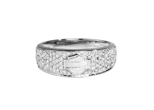 Harley-Davidson® MOD® H-D Infinity Circle Diamond Band Ring HMR0004 (8)
