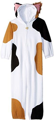 [Leg Avenue Children's Calico Cat Kigurumi Funsie Costume] (Warm Halloween Costumes For Kids)