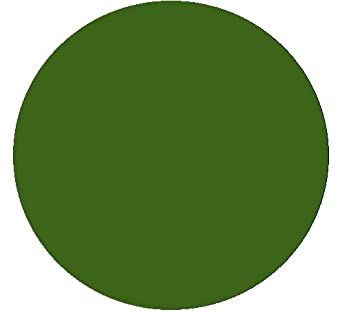 Kwik-Cover 30-GR 30'' Round Kwik-Cover- Green Fitted Table Cover (1 full case of 100)