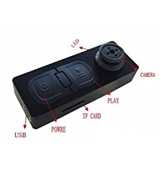 Jk Spy Button Camera Dvr Audio Video Camcorder